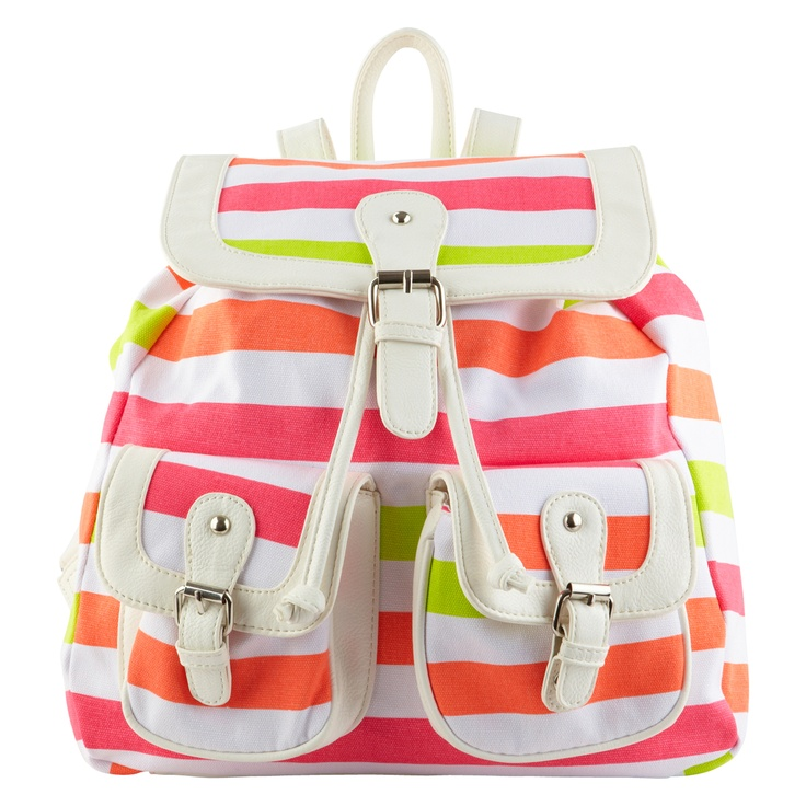 Striped backpack from Call It Spring