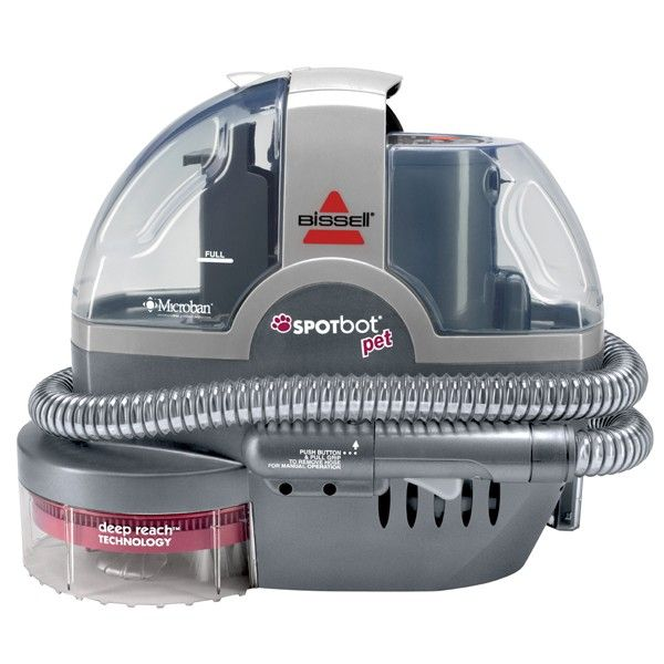 the bissell 33n8 spotbot pet is a hands free deep cleaner designed for homes with - Green Machine Carpet Cleaner
