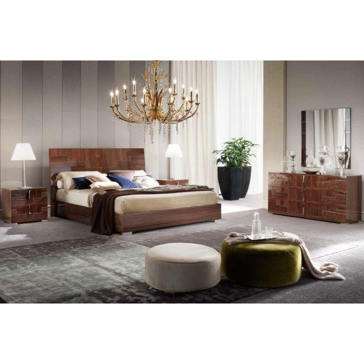 Итальянская мебель для спальни Memphis фабрики Alf group