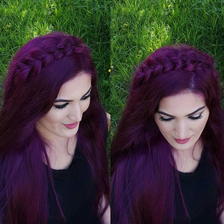 Best 25+ Dark purple hair ideas on Pinterest | Violet hair ...