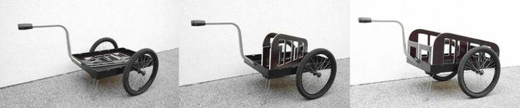 Fahrradanhänger Sondermodelle | Zarges-Kisten Anhänger | Hundeanhänger