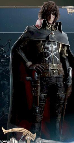 #Albator - Captain Harlock