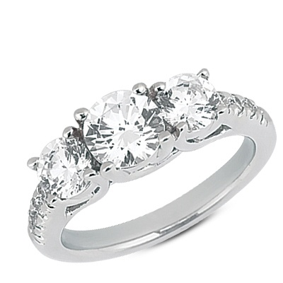 Diamond Jewellers :: Engagement Ring Mounting  - Configurable
