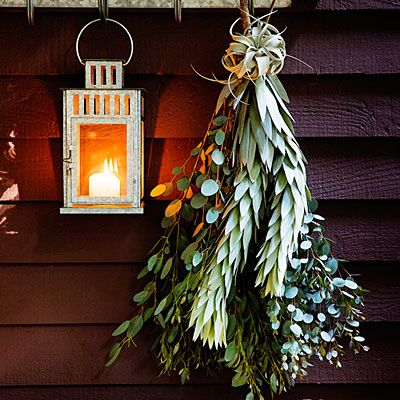 Wintry welcome - Beautiful Holiday Decorations & Arrangements - Sunset