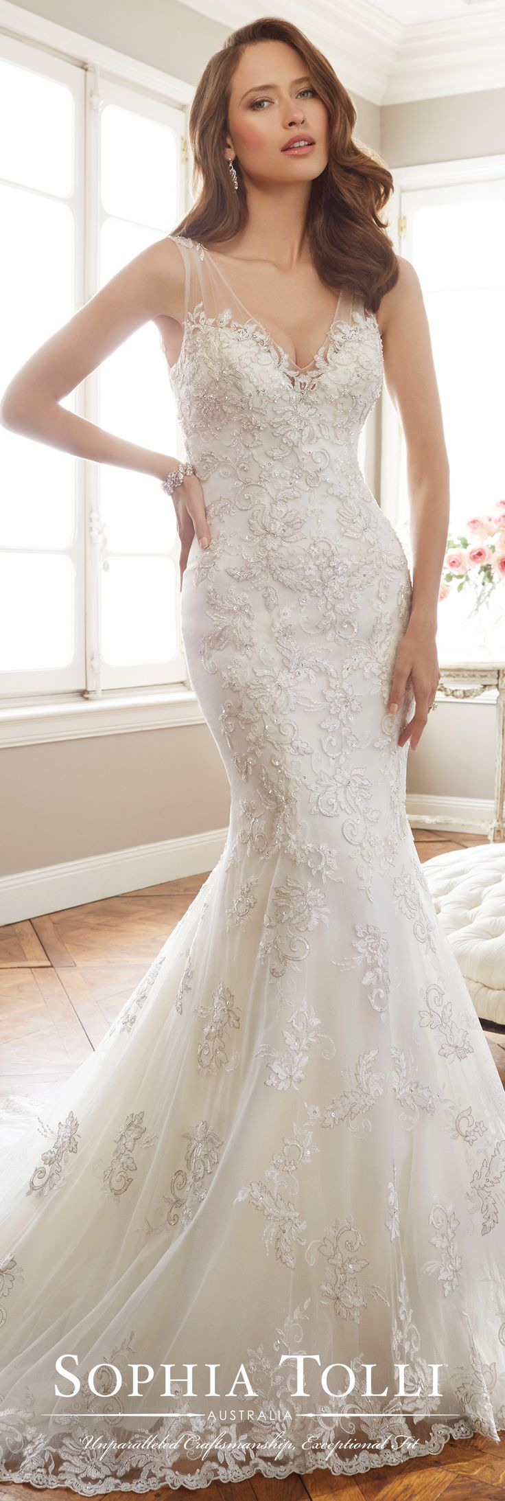 530 best images about sophia tolli on pinterest discover for Sophia tulle wedding dress
