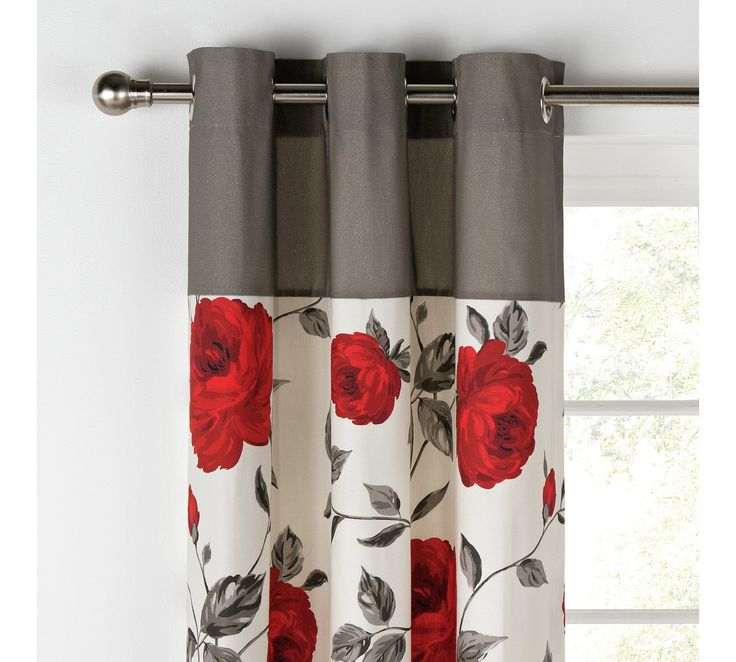 Buy Collection Claudia Lined Curtains - 117x137cm - Grey at Argos.co.uk, visit Argos.co.uk to shop online for Curtains, Blinds, curtains and accessories, Home furnishings, Home and garden