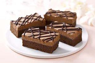 BAKER'S Mousse Bars Recipe - Kraft Recipes