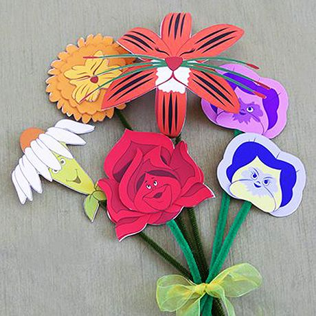 Dive down the rabbit hole with this beautiful spring bouquet of flowers. Inspired by the enchanting characters from Alice in Wonderland and a perfect handmade gift.