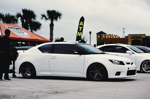 Simply Clean 5 - @brian_vossen welcomes his Scion TC to Vossen CV3's!