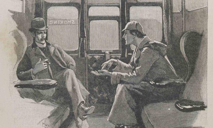 Homem encontra conto perdido de Sherlock Holmes no sótão de sua casa +http://brml.co/187xULV