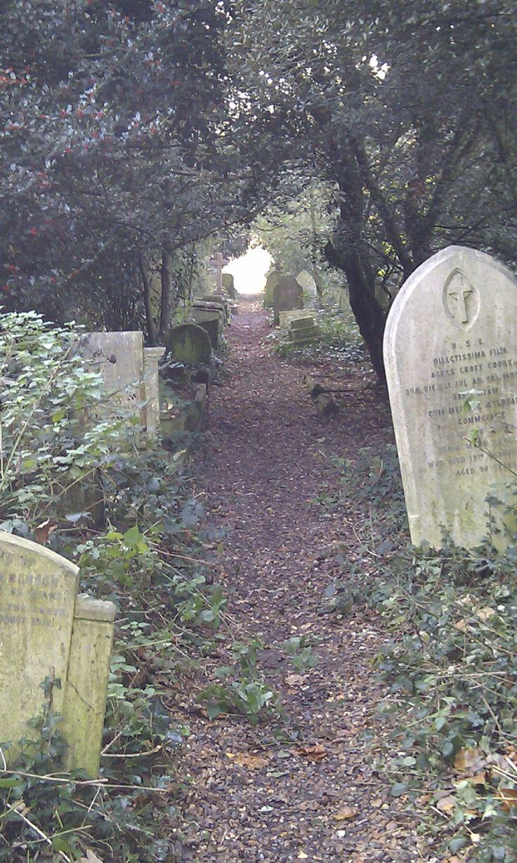 Old Barnes Cemetery.