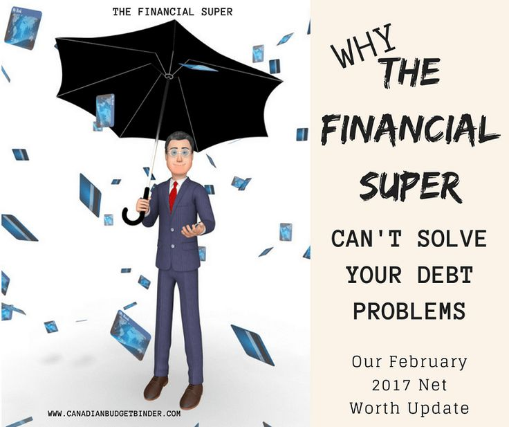 Who is The Financial Super? Find out how you can become this person and why so many people struggle with their debt problems. Plus our February 2017 Net Worth Update! Has anyone made a difference in your financial life? What did they do? http://bit.ly/2ndkwRx  Thanks Dave The Super