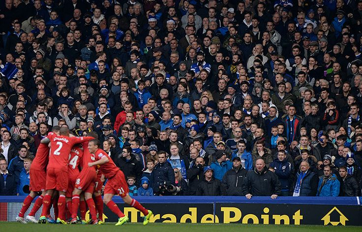 Nov. 23rd. 2013.  Five minutes into the Merseyside derby and the Everton defence slumbers as Steven Gerrard whips in a corner to the six-yard box and a completely unmarked Philippe Coutinho flicks home from six yards out. The Gwladys Street end is silent.