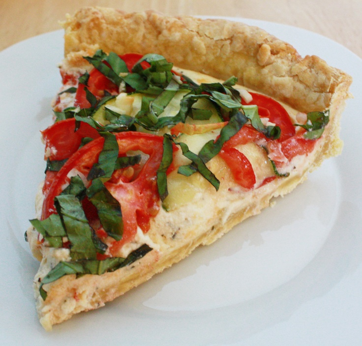 Tarts, Rustic and Tomatoes on Pinterest