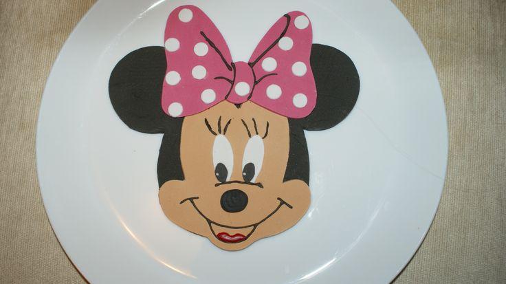 Minnie Mouse, ozdoba na tort, styl angielski