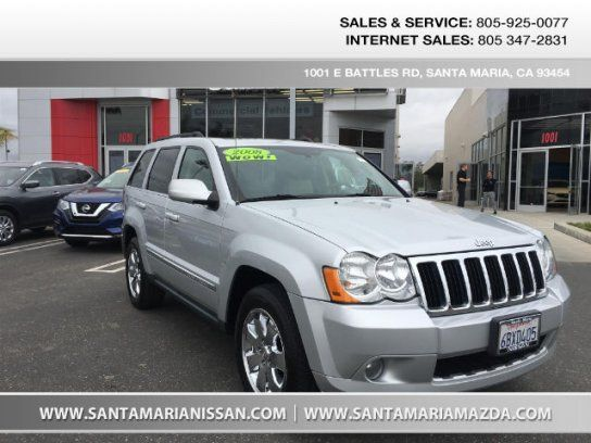 Sport Utility, 2008 Jeep Grand Cherokee Limited with 4 Door in Santa Maria, CA (93454)