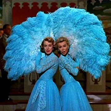 "Sisters. Oh how I love White Christmas. I don't get to watch it often enough, because the second my husband walks in the room, he says ""ugh, this again?!""."