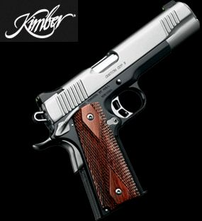Kimber 1911. Just about the nicest and well built 1911 pistols out there for the money.