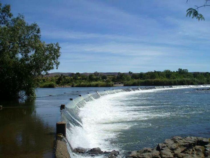 The iconic Ivanhoe Crossing, Kununurra Western Australia by Amanda Paul