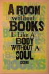 Books! Print by Amos Paul Kennedy Jr   I have this in a different color scheme, hehe :D