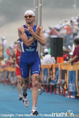 New Zealand triathlete Kris Gemmell keeps rocking