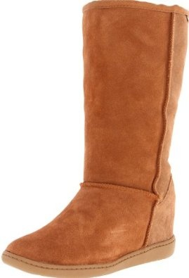 Skechers Women's Plus 3-Tall Boot Chestnut