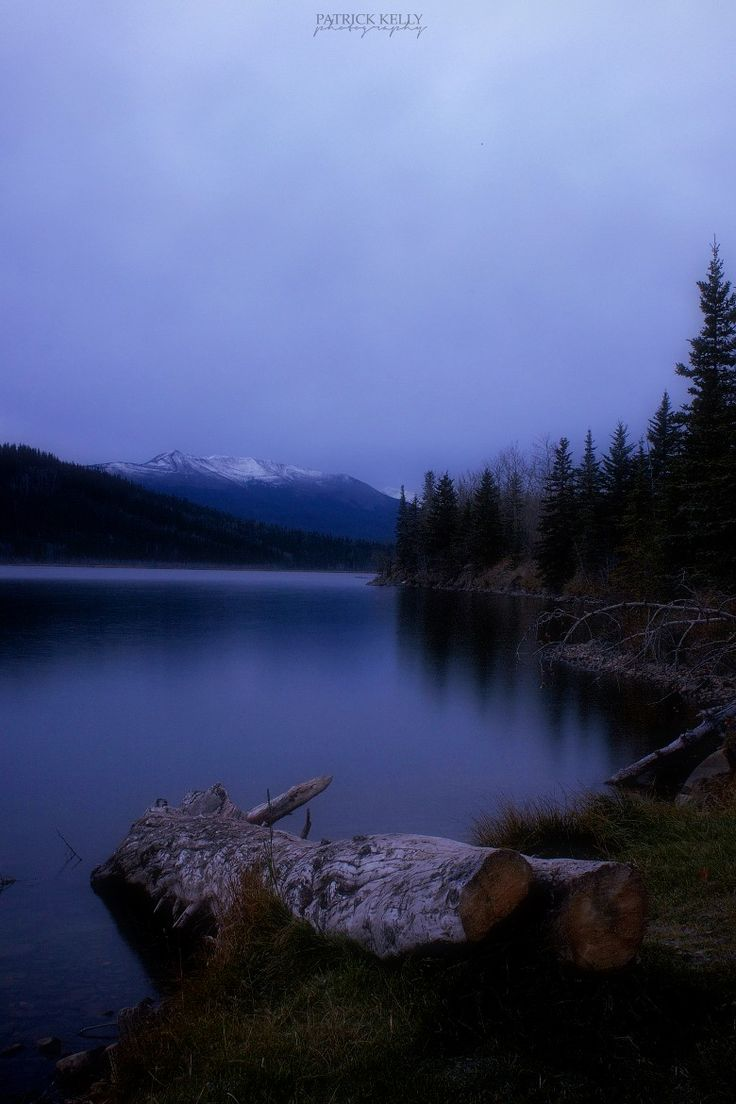 Photograph Grande Cache Lake by Patrick Kelly on 500px