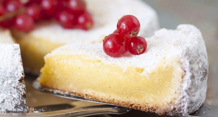 Vit kladdkaka – recept på vit kladdkaka med lime