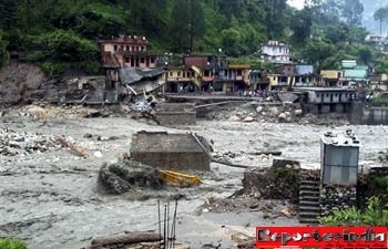 Over 30 feared dead in flash floods in Uttarakhand, Himachal and JKgion