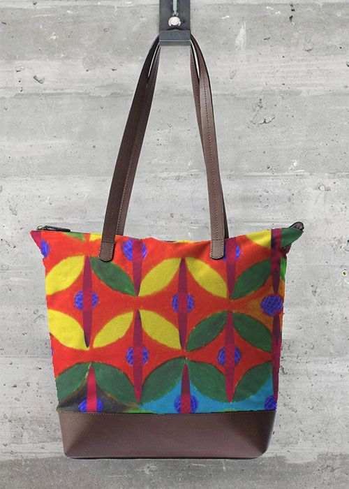 Tote for shopping in Original Pattern