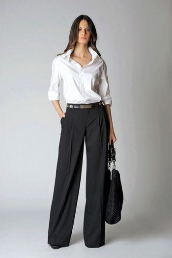 широкие брюки с высокой талией - Поиск в Google