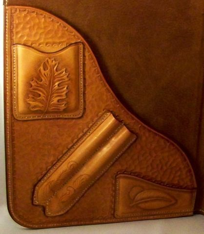 "Leaf Notebook Inside - Ed the""BearMan"" - Gallery - Leatherworker.net-SR"
