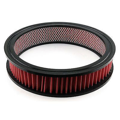 """14"""" x 3"""" Red Washable Air Filter Element Only"""