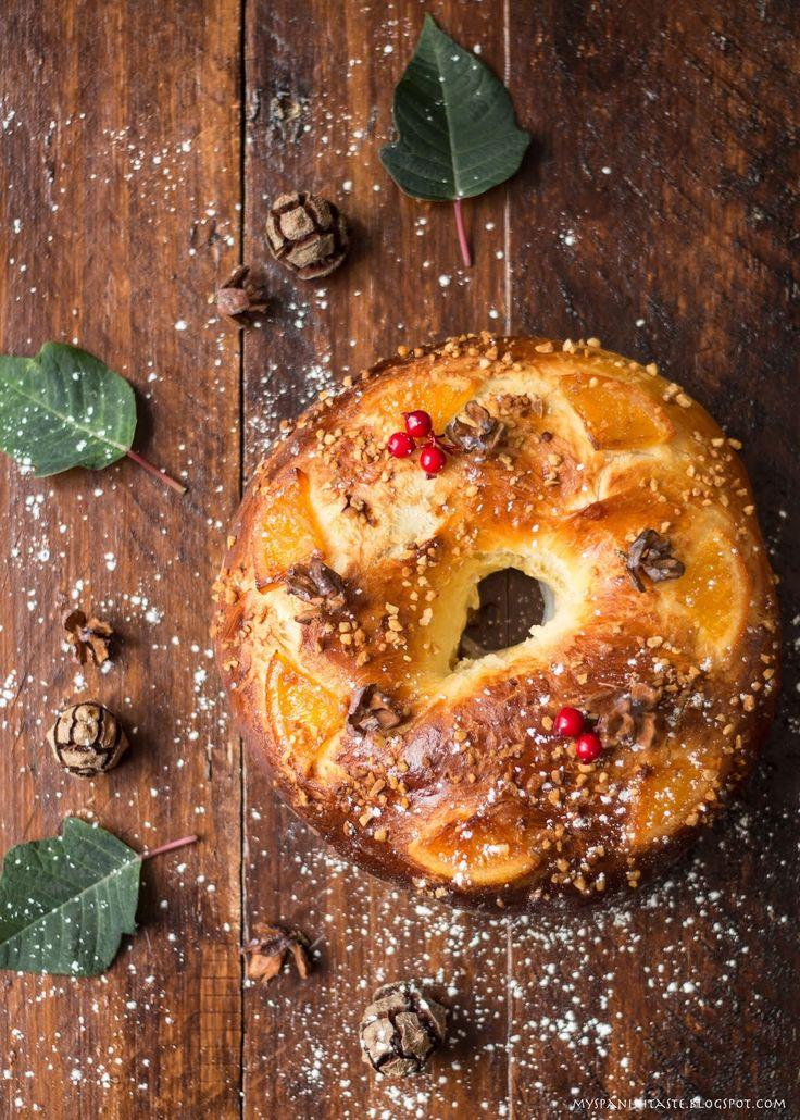 My Spanish Taste: Spanish Three Kings Cake: Roscón de Reyes
