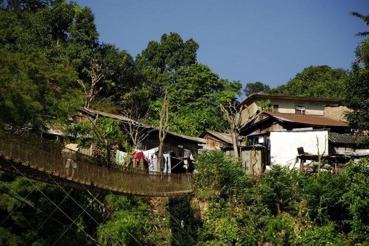 Spacer do wioski nad rzeką Trishuli