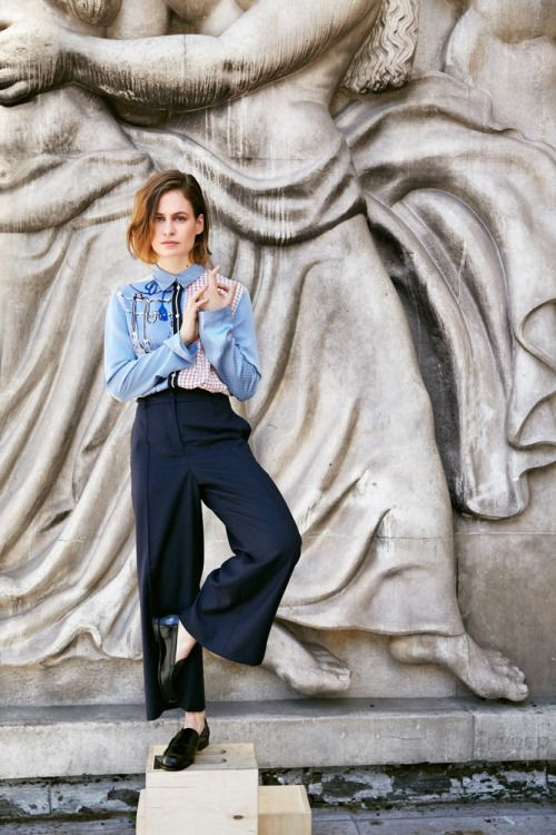 Christine and the Queens for Vanity Fair, photographed by Hugues Laurent, 2016.
