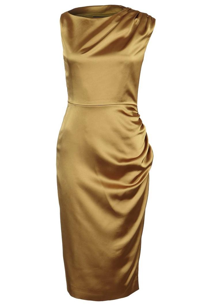 MABEL - Zakelijke jurk - goudkleurig