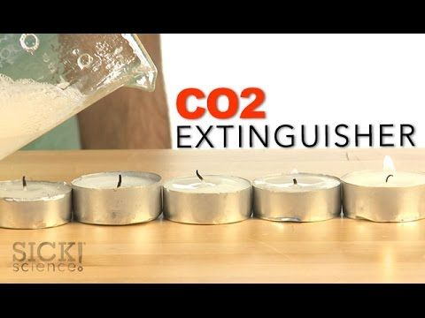 CO2 Extinguisher - Sick Science! - YouTube / #Magicflix #YouTube #Movie #Video #Kids #Toddlers #Science #Fun #Project