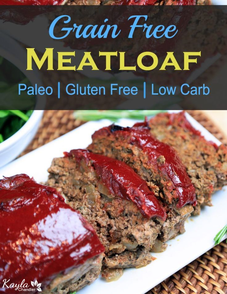 A delicious low carb meatloaf recipe!
