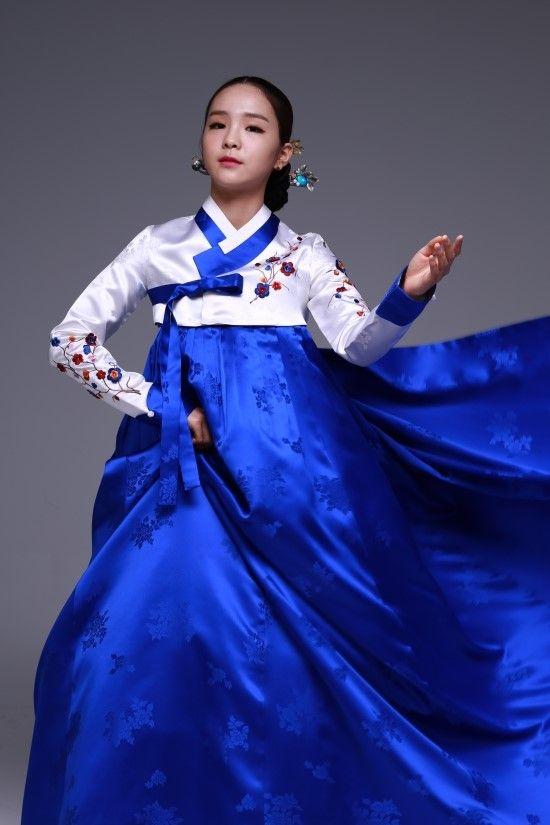 Lovely Song So Hee in Hanbok