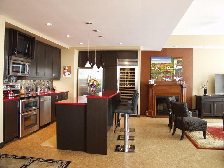 condo kitchens waterloo kitchen condo renovation 2 - Condo Kitchen Remodel Ideas