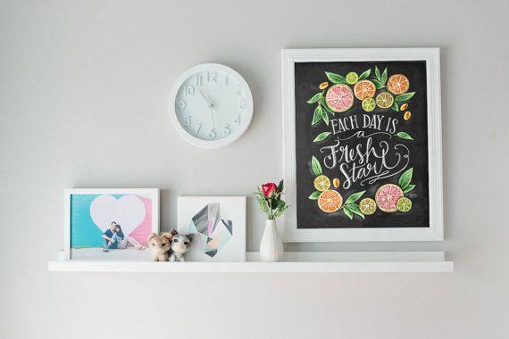 Keuken+schoolbord+Art++krijt+kunst++keuken+Art++door+LilyandVal