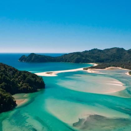 Abel Tasman coast track, New Zealand