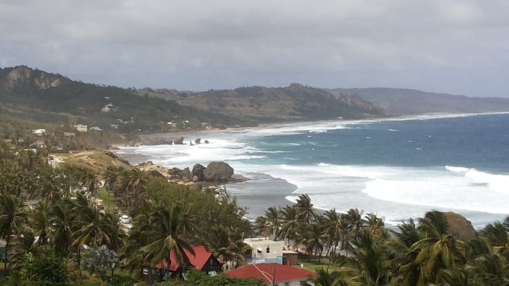 The coastline at Bathseba.