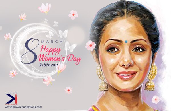 To all the women out there who sacrifice, compromise, adjust, give love, do everything they can for their loved ones around! We wish you a Happy Women's Day.  Lots of Love, Luck, and Success!  Aim for the moon and the stars and #Shineon #WomensDay   #TeamKrown