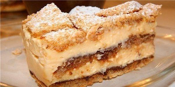 Ореховый торт с лимонным кремом  Очень вкусный, мягкий и нежный, с ярко выраженной лимонной ноткой и орехово-шоколадным послевкусием тортик, без единого грамма муки от греческого кулинара Стелиоса Парляроса! Очень рекомендую - попробуйте!