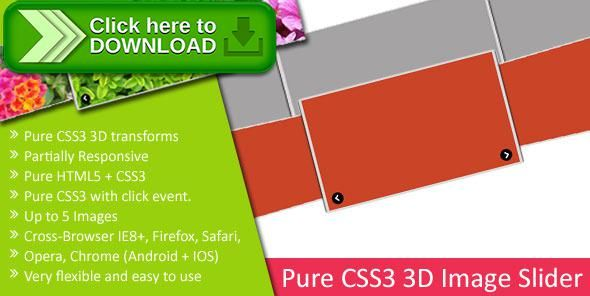 [ThemeForest]Free nulled download Pure CSS3 3D Image Slider from http://zippyfile.download/f.php?id=51883 Tags: ecommerce, CSS3 3D Image Slider, css3 image popup, css3 image slider, image popup slider, image slider, pure css3 slider