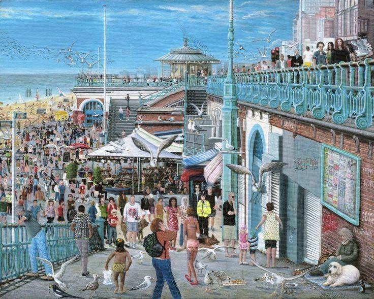 Robert Howard's BRIGHTON BANK HOLIDAY at the RA Summer Exhibition 2015