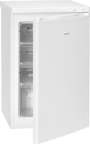 Bomann GS 199 Gefrierschrank / A++ / 140 kWh/Jahr / 80 Liter / weiß