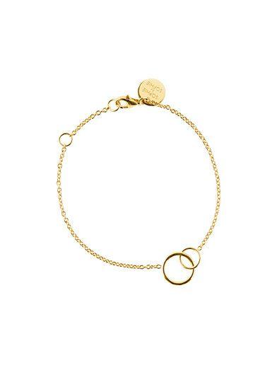 Circle Bracelet - Sophie By Sophie - Guld - Smycken - Accessoarer - Kvinna - Nelly.com